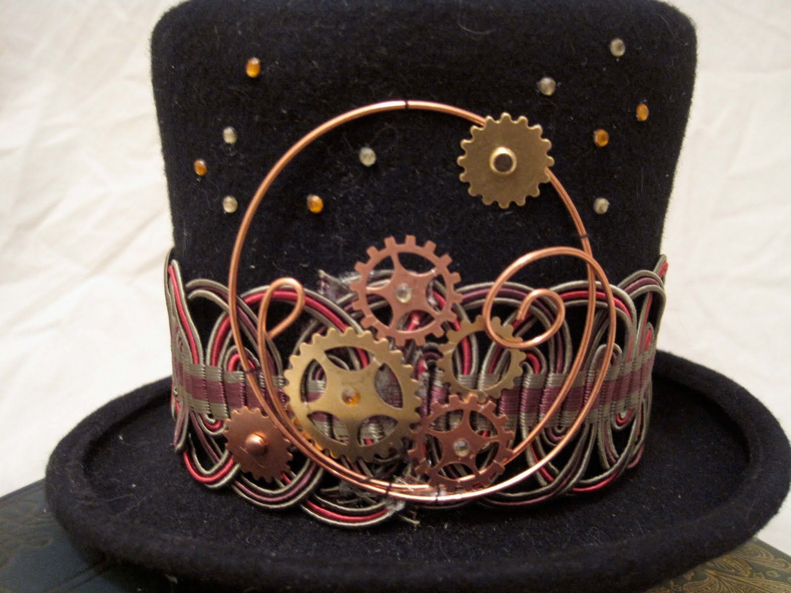 Steampunk Top Hats for the discerning Gentleman or Lady