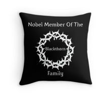 Blackthorn Family Throw Pillow