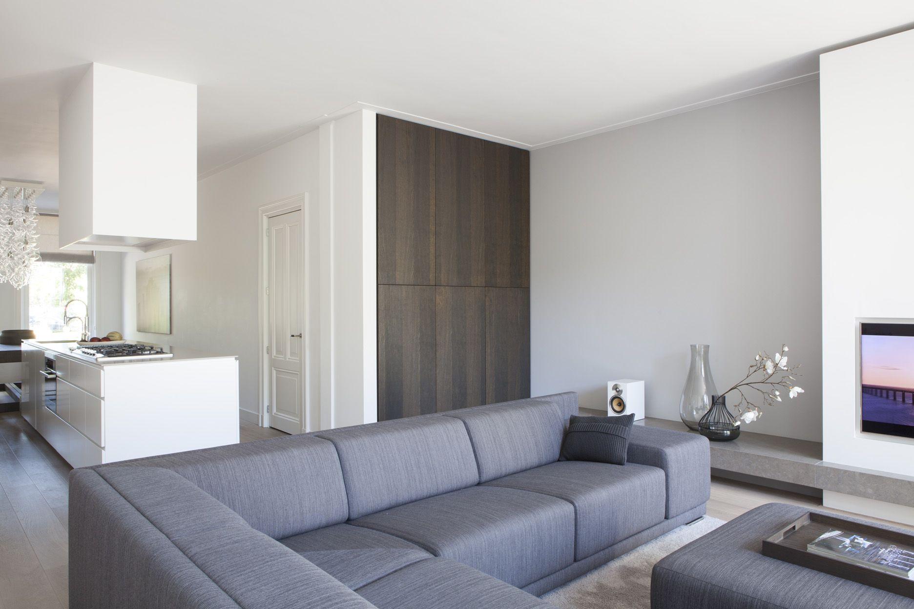 Een licht en minimalistisch interieur dat wilden de bewoners van