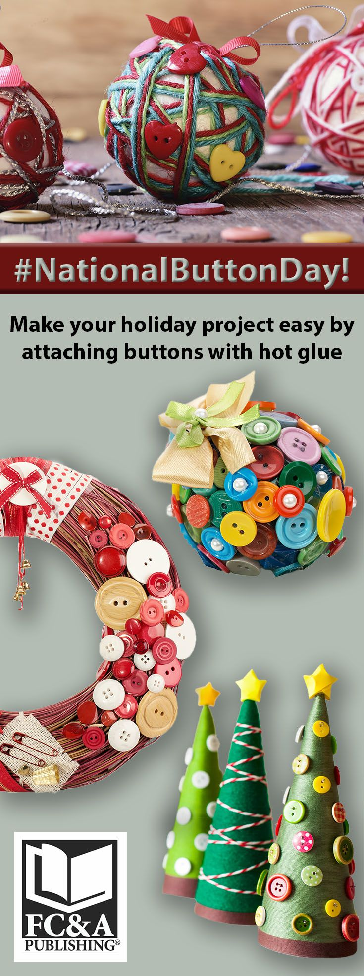 NationalButtonDay, Creative Holiday Button Ideas