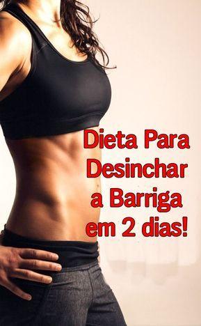 Dieta para desinchar barriga