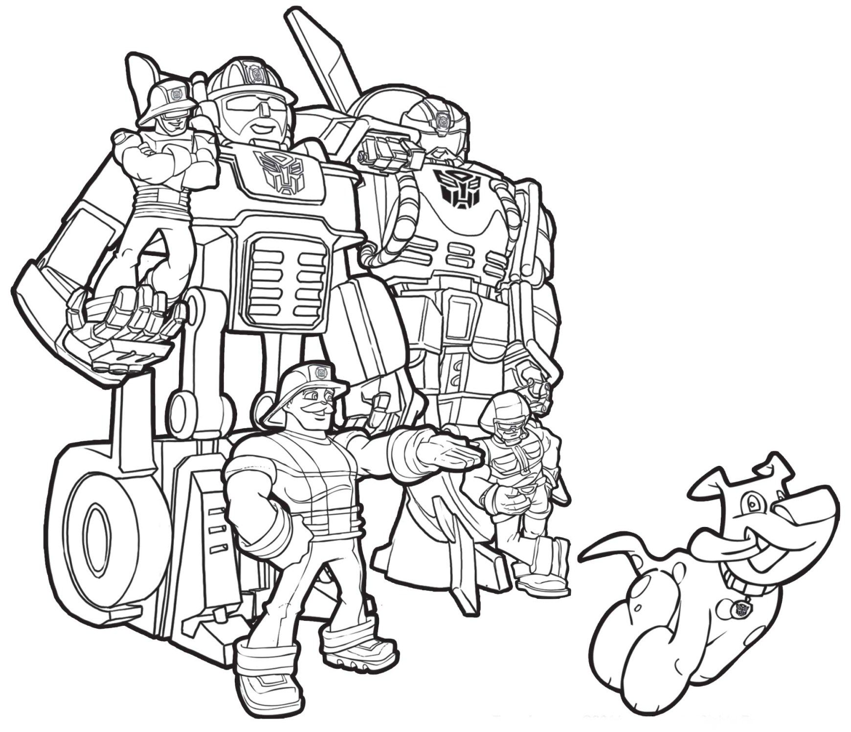All Rescue Bots Coloring Pages For Kids Printable Free Transformers Rescue Bots Birthday Transformers Coloring Pages Rescue Bots Birthday
