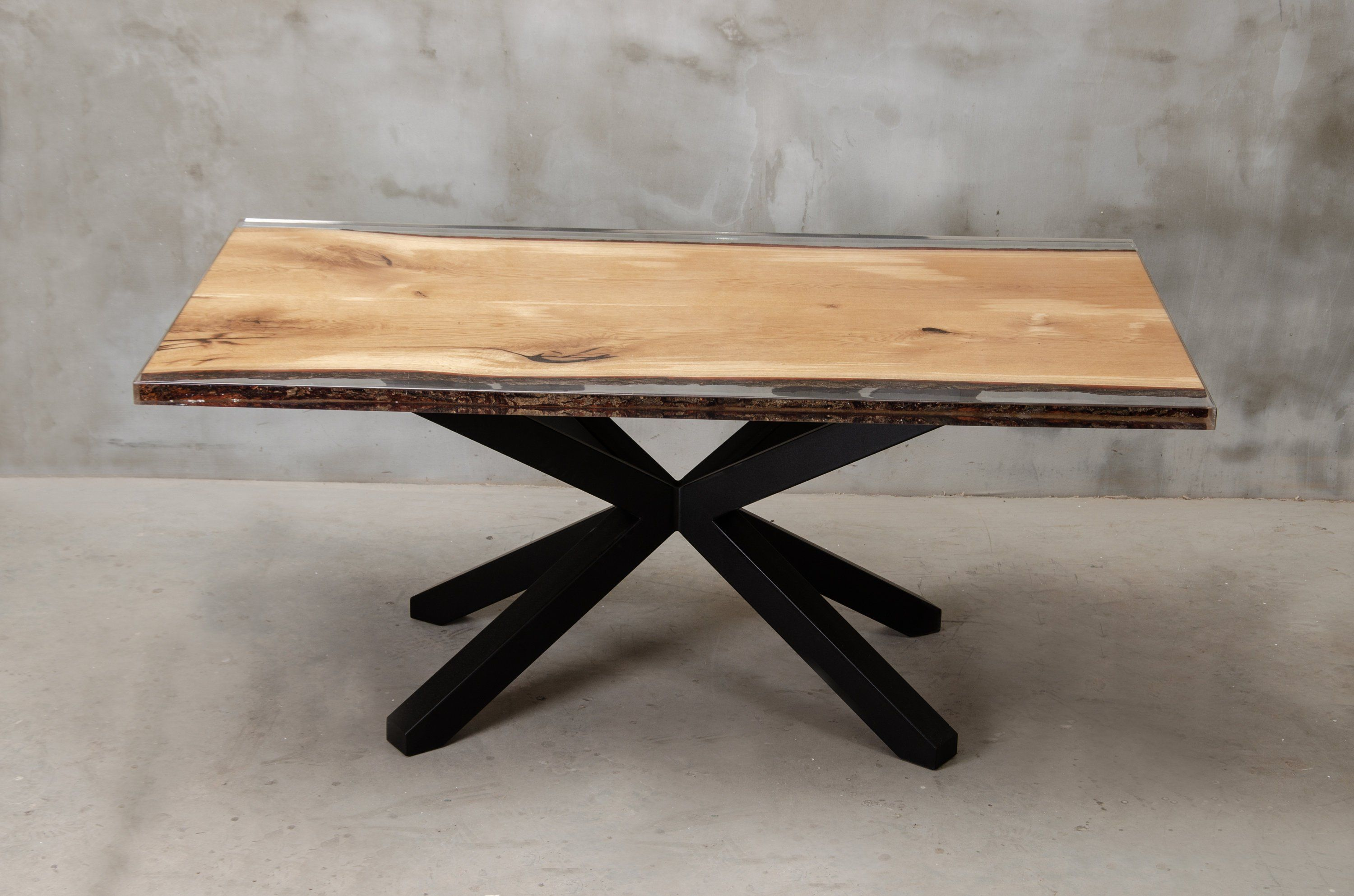 Custom Resin Epoxy Table With Metal Table Legs Live Edge Table Made Of Oak Wood Uv Resin Table Modern Dining Table Conference Table Dining Table Metal Dining Table Metal Table Legs [ 1987 x 3000 Pixel ]