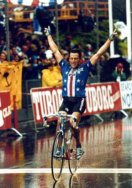Lance Armstrong Solos To Victory In The 1993 World Championship