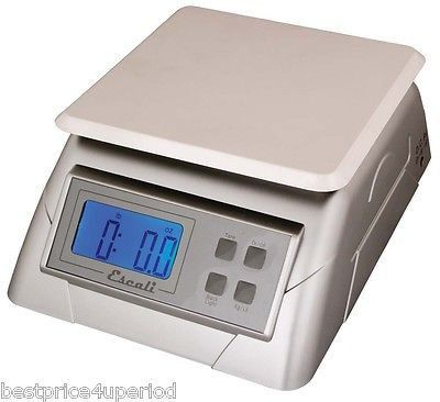 280dca4cb9e5 Escali Alimento Kitchen & Multifunctional Digital Scale NSF 13 Lb ...