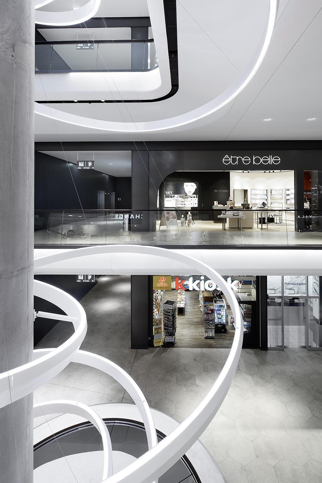 Innenarchitekturbüro Stuttgart das gerber stuttgart shopping mall interior design ippolito