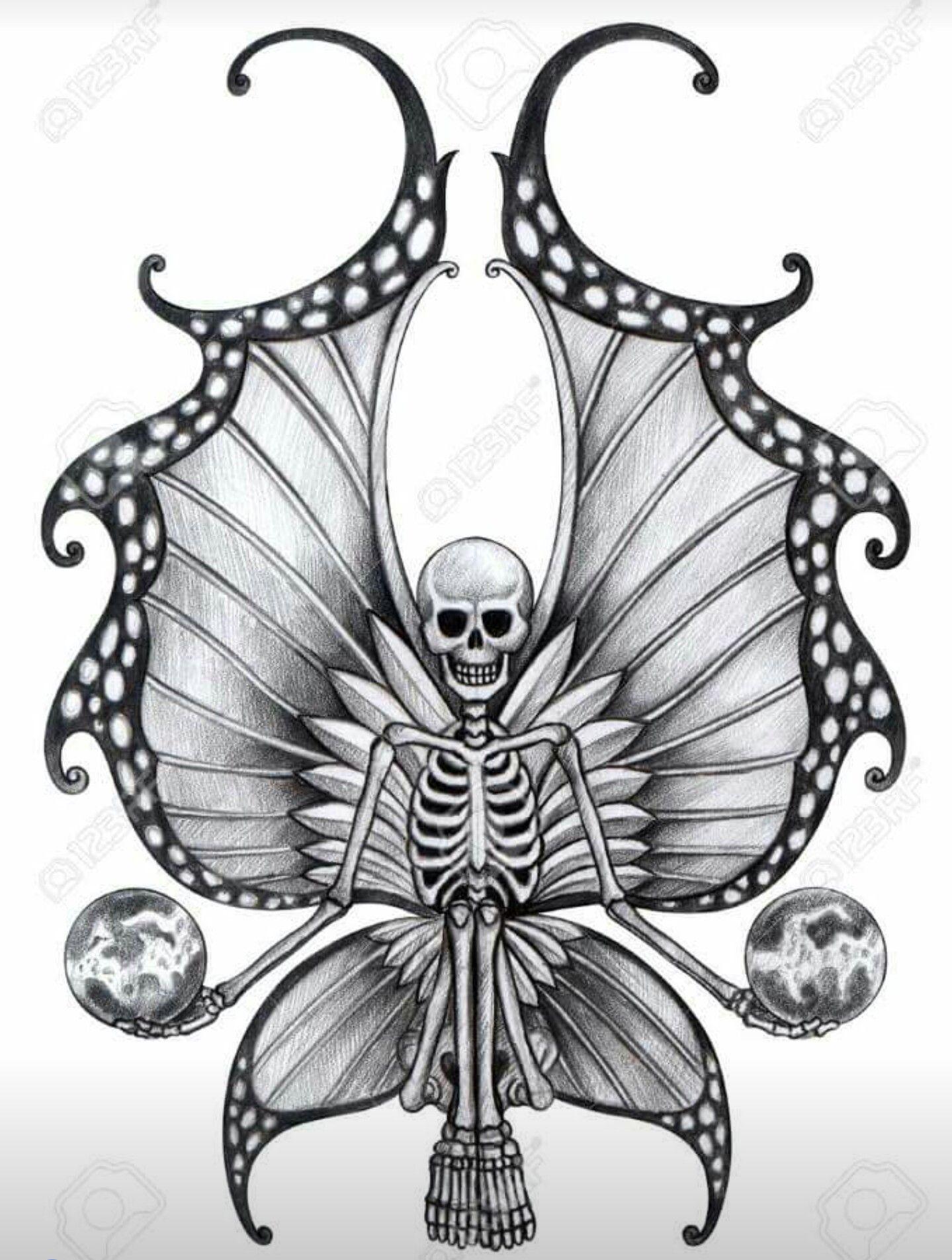 Pin By Tammy Williams Bartelt On Skulls Fairy Tattoo Skulls Drawing Skull Pictures