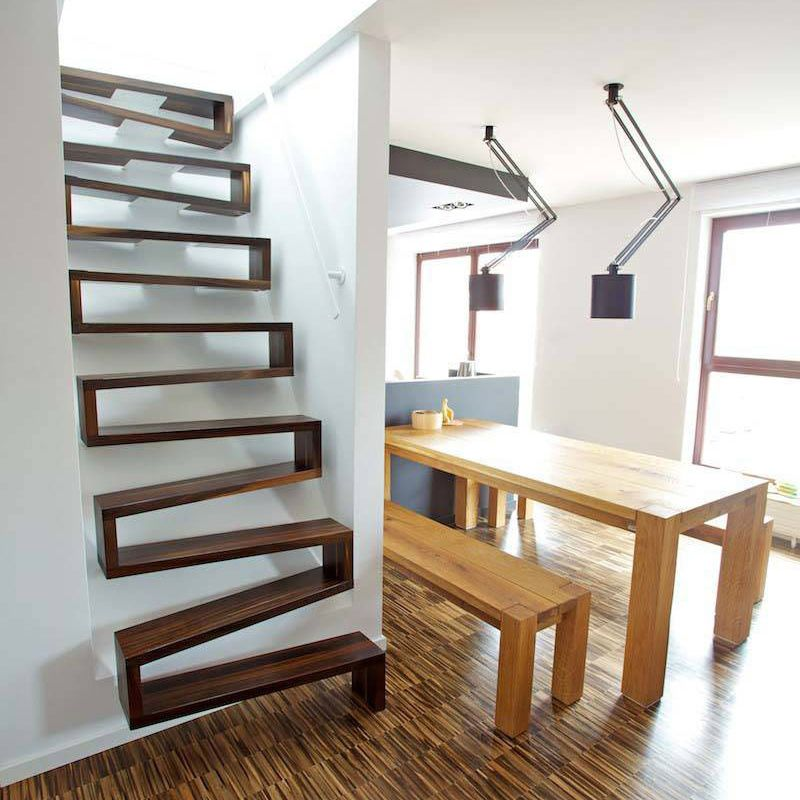 Pin de Dennis Mueller en Living Small | Pinterest | Escalera