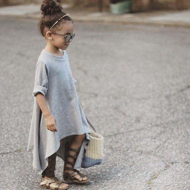 the future mini me. #fashionista
