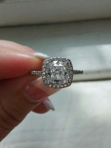 My 1 67 Carat Cushion Cut Ring From Berricle