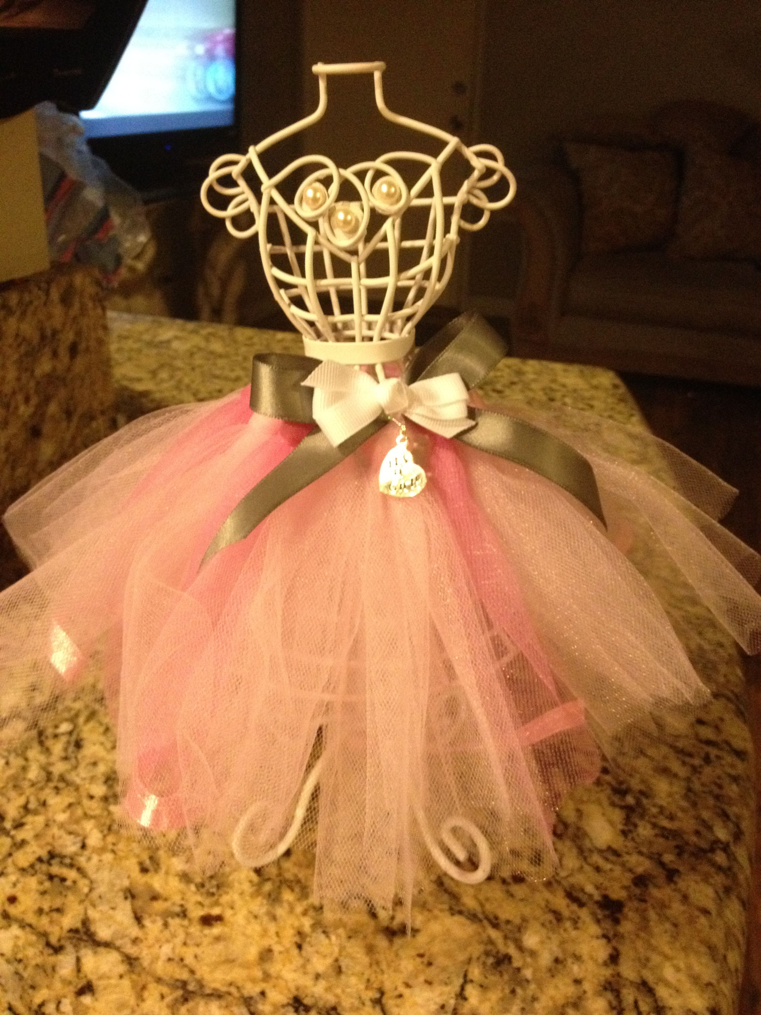 Tutu baby shower centerpiece. | Lakers Theme Party | Baby ...