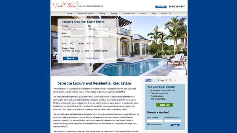 Sarasota Real Estate Group - http://www.keystosarasota.com/