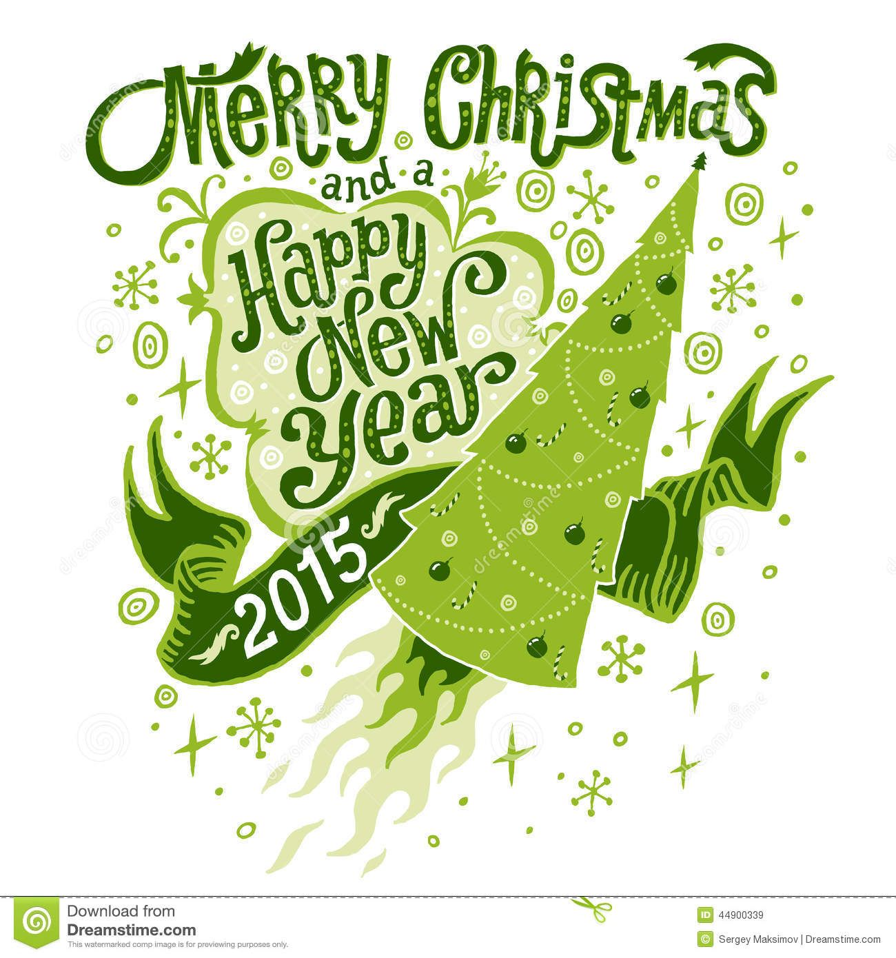 Merry christmas and happy new year 2015 greeting card with merry christmas and happy new year 2015 greeting card with handlettering typography download from over m4hsunfo