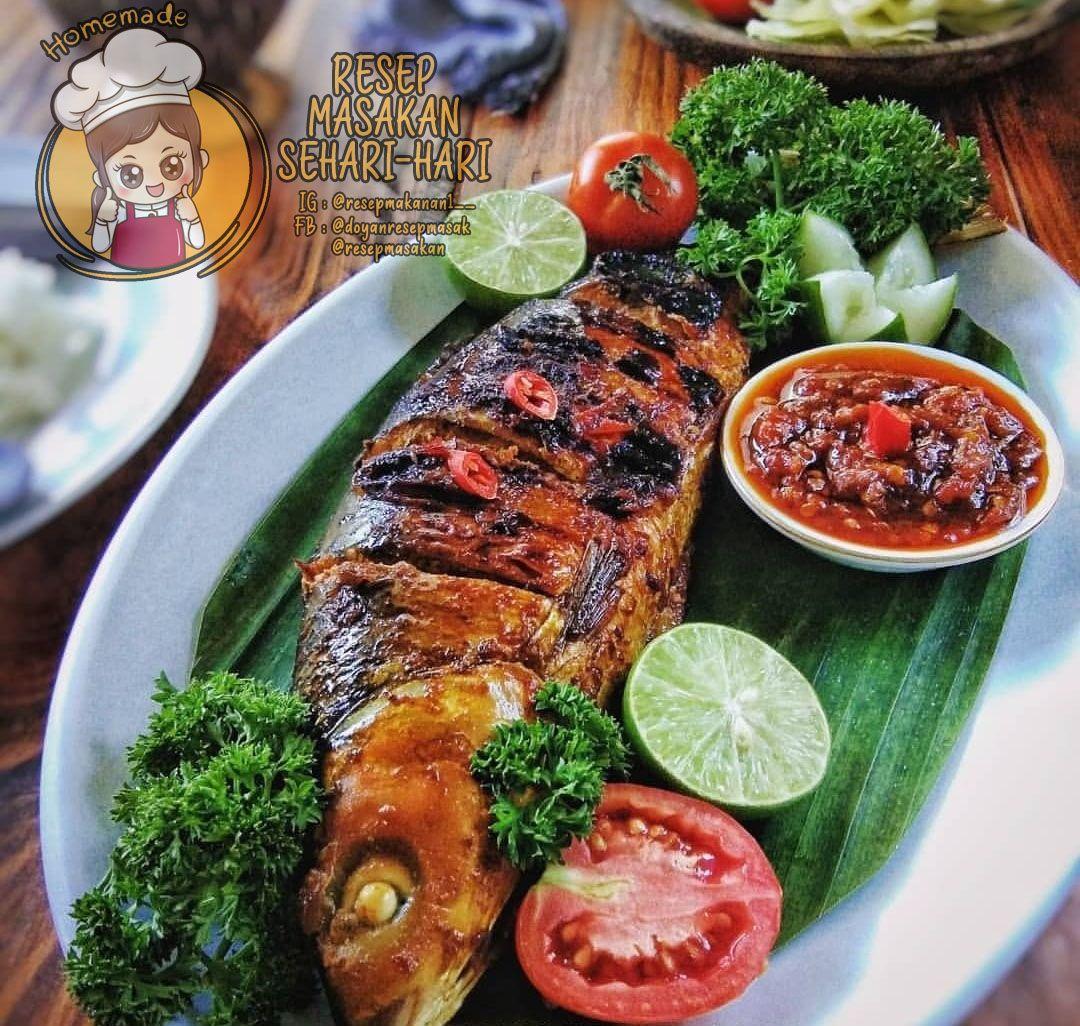 Bandeng Bakar Kecap Food Receipes Food Recipies Indian Food Recipes