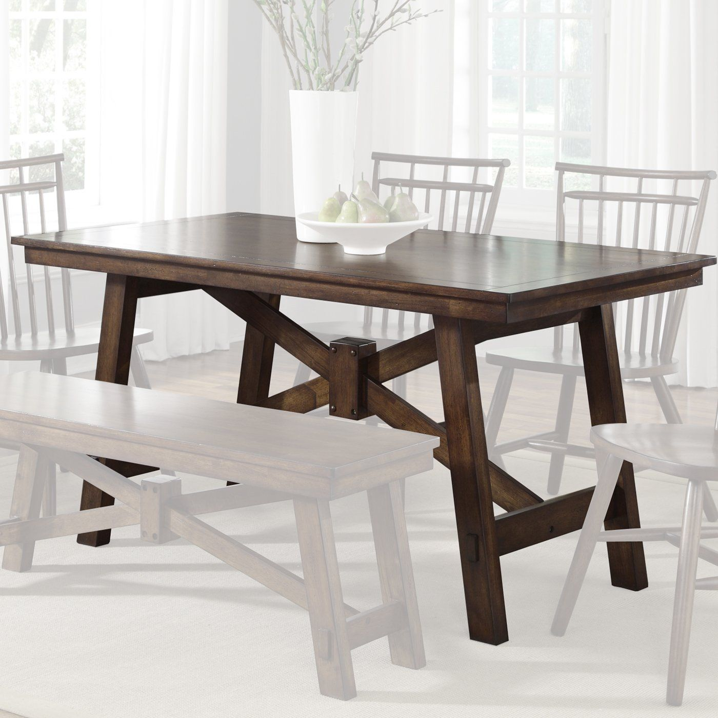 Kitchen table benches  wanting a farmhouse table with benches to alter  Live Out Loud