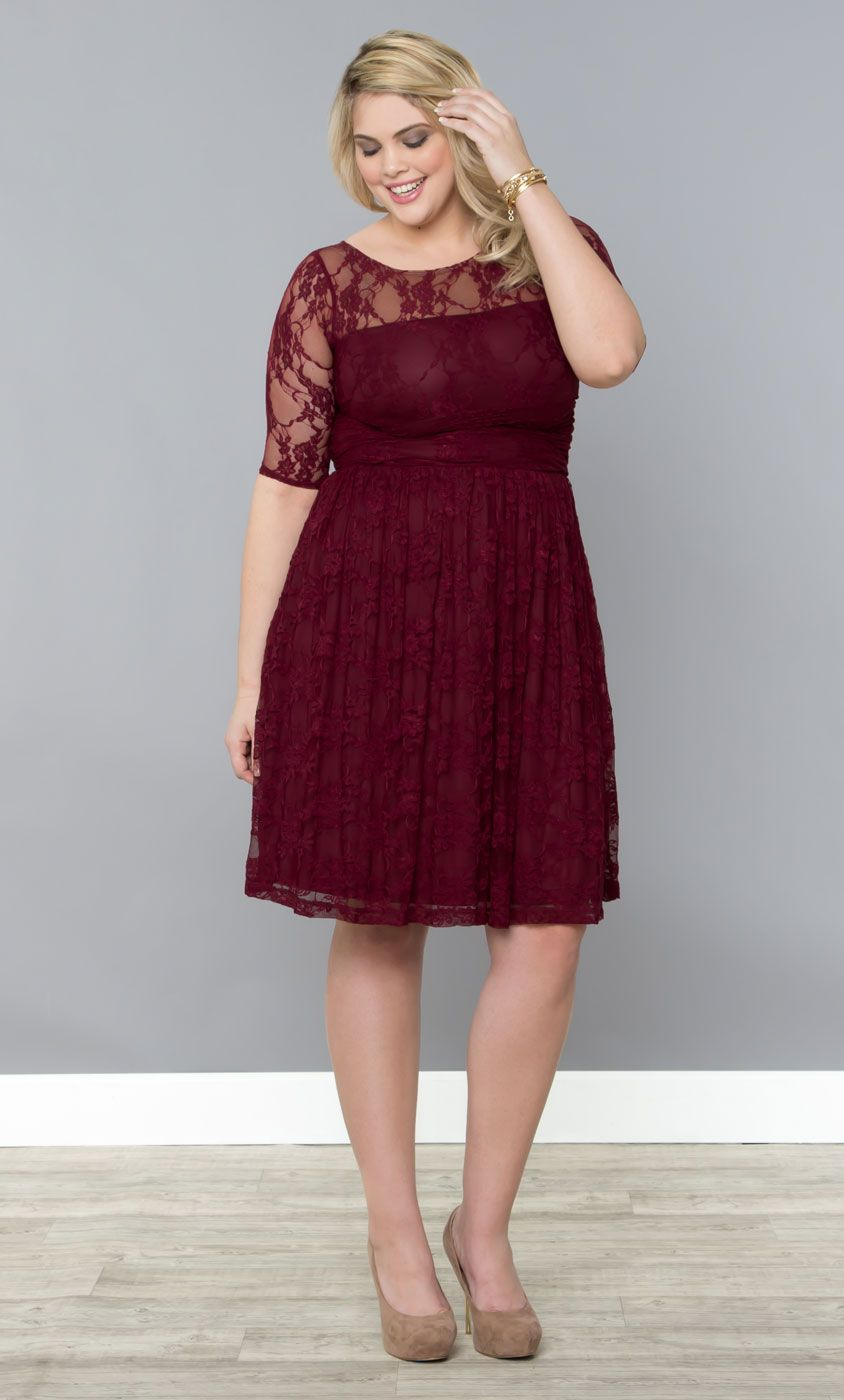 Luna Lace Dress | Plus Size Fashion | Plus size lace dress, Lace ...