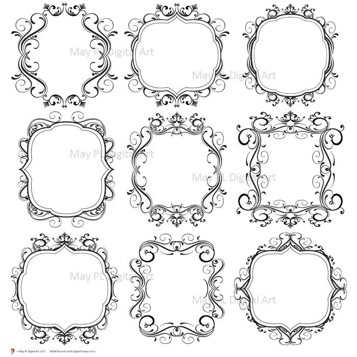 Wedding Invitation Borders And Frames Free Download HD
