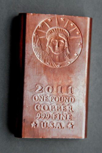 1 Lb Copper Bar Now S The Time To Invest In Copper And Silver Paper Money Will Soon Be Worthless Open Your Eyes To Whats Going On In The World Tho Copper Bar
