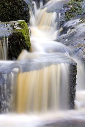 Glencree Waterfall, County Wicklow, Ireland by jogorman, via Flickr