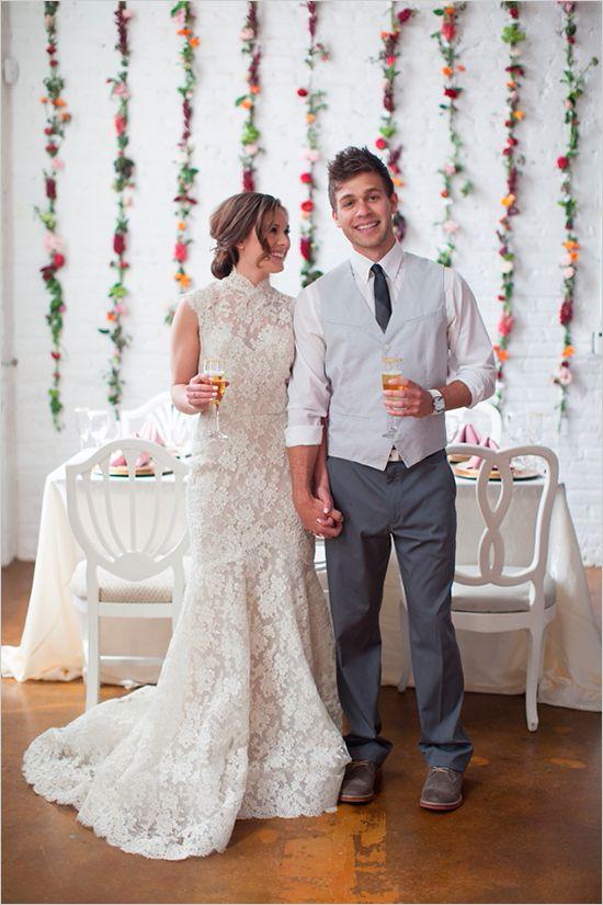 Flower Filled Wedding Brunch Photography Pinterest And Dresses