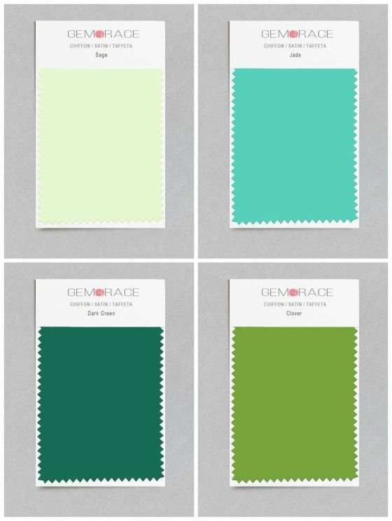 Green Color Swatches Sage Jade Dark And Clover End The Guesswork We Recommend Ordering Fabric To Make Your Decision Easier