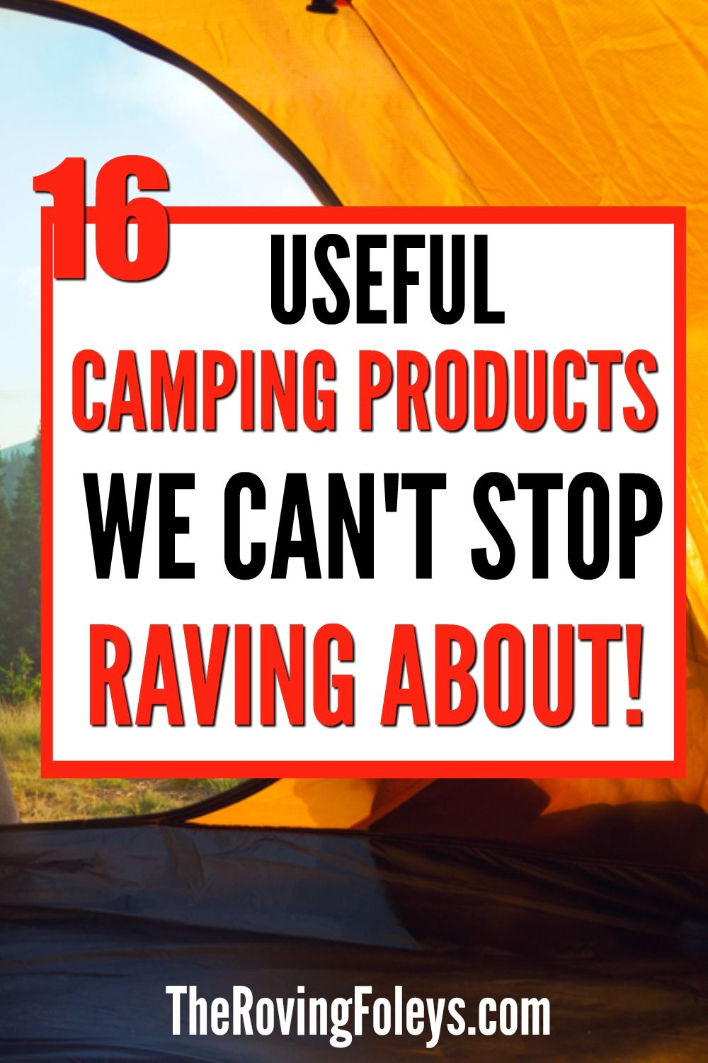 16 Fun Camping Products We Love Rv Accessories Camping Rv Stuff