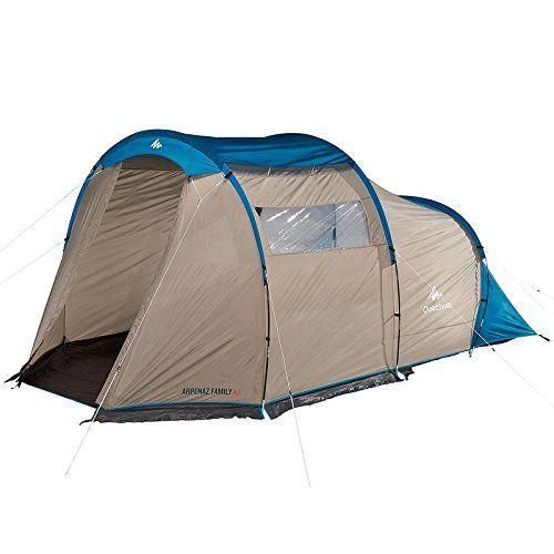 Decathlon Quechua Arpenaz Family 4 1 Tent 4 People 1 Bedroom Quechua Http Www Amazon Com Dp B0156kbajs Ref Cm Sw R Pi Dp Kamperen Met De Tent Tent Kamperen