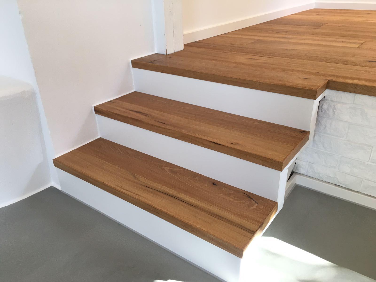 beton #treppe #eiche #eiche geölt #bodenbeschichtung #d&w #holz