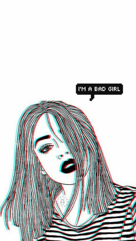 Pin By Kyla Mccown On Aesthetic Bad Girl Wallpaper Girl Wallpaper Cartoon Wallpaper Iphone