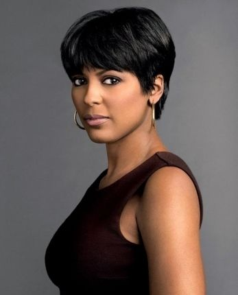 Short Hairstyles For African American Women Over 40 Photos Thick