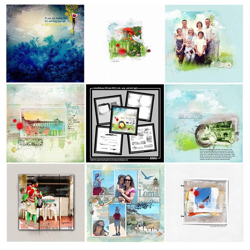 Save 50% on Summer Breeze #digitalart collection http://annaaspnesdesigns.com/artsale-summer-breeze/ #photoshop #digitalscrapbooking #photosharing #photographer #digitalphotography #collage