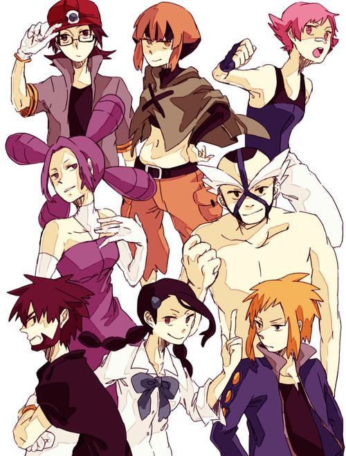 Sinnoh Leaders Gardenia And Candice And Volkner Were The Coolest