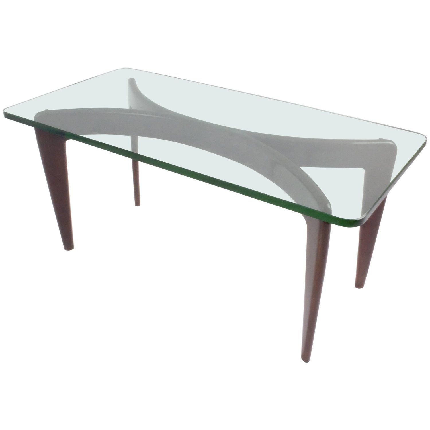 Rare Gio Ponti Mahogany Coffee Table By Fontana Arte With Original Crystal Mahogany Coffee Table Glass Cocktail Tables Antique End Tables [ 1500 x 1500 Pixel ]