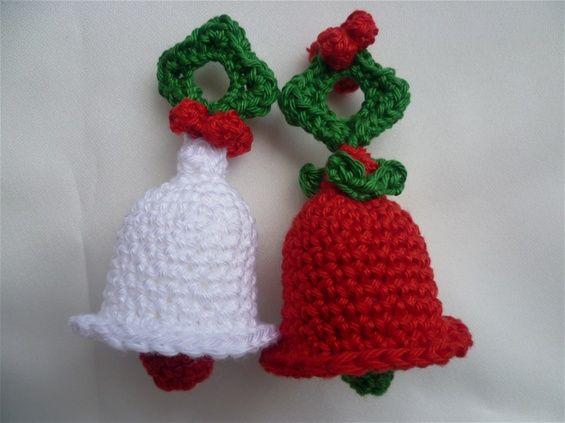 Kerstklokje Wwwkleinehaakpatronennl Kerst Pinterest Kerst