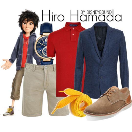Hiro Hamada by Disney Bound