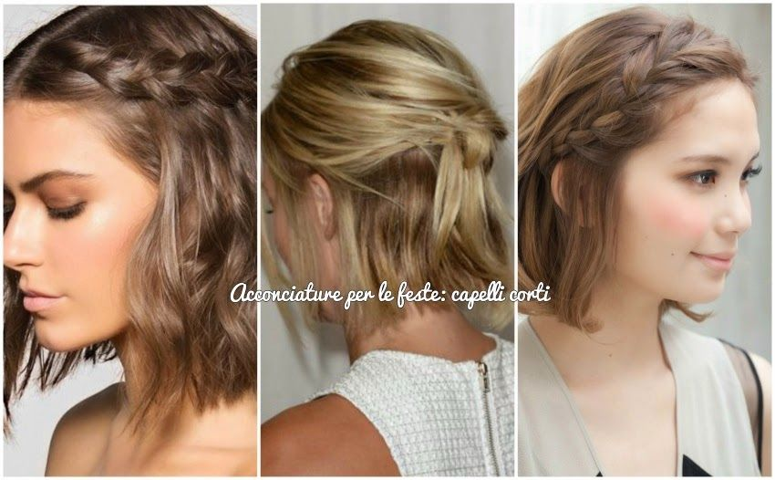 Acconciature per feste capelli medi
