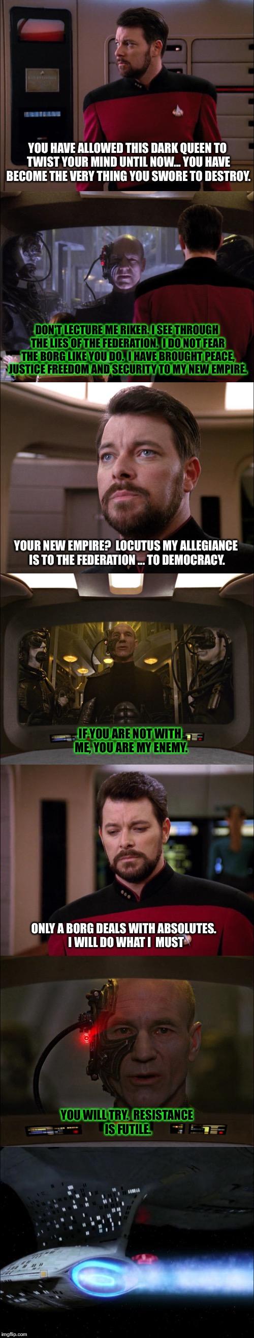 The Best Of Both Worlds Part Star Wars Star Wars Anakin Star Trek Voyager Watch Star Trek