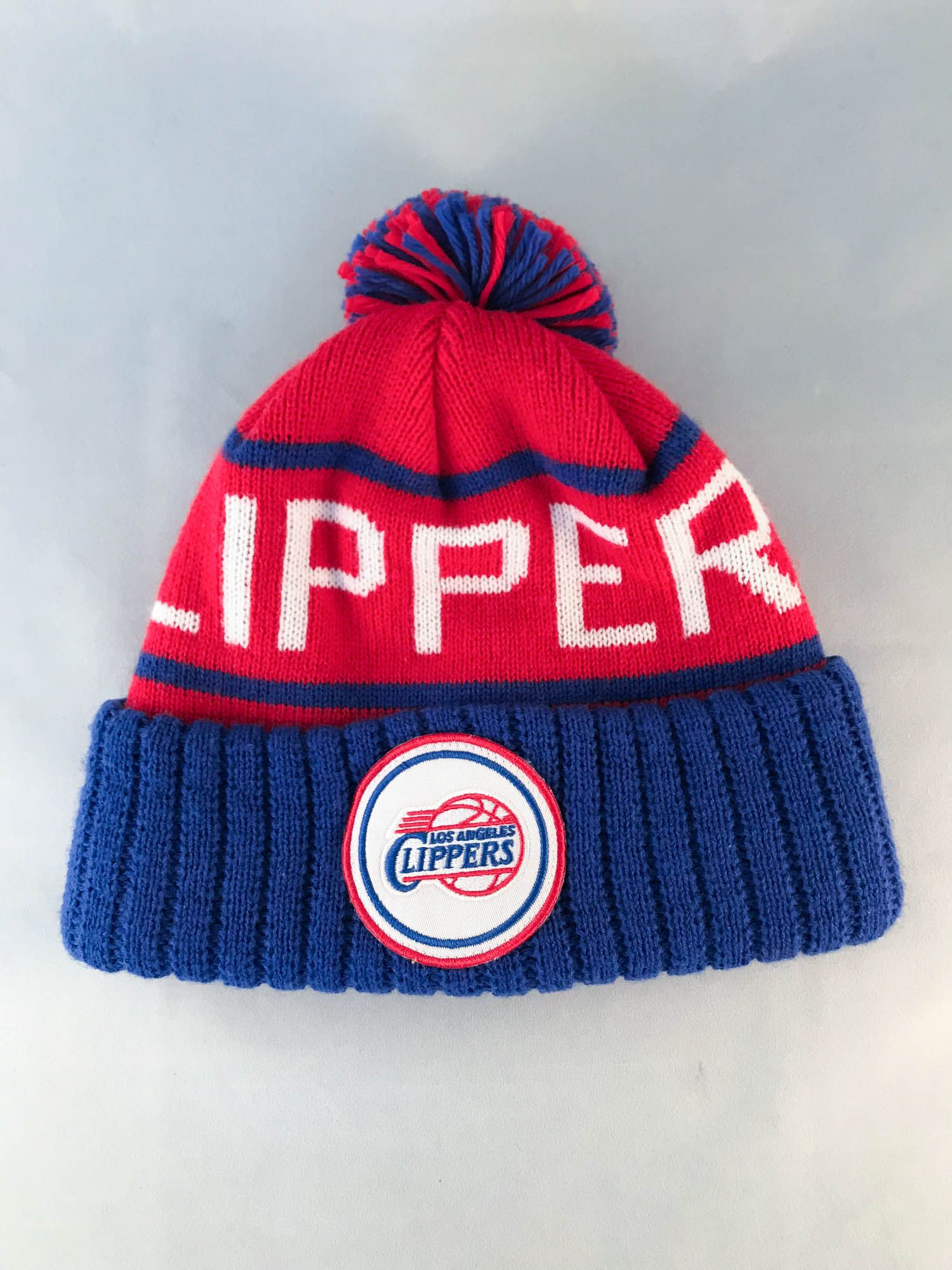 d52faf2bee4 Los Angeles Clippers NBA Pom Beanie by Mitchell and Ness on Blamm.com   LosAngelesClippers  NBA  pom  beanie  Mitchell Ness  LA  clippers