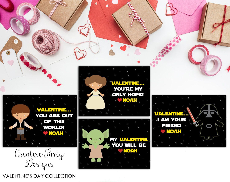 Valentine Printable  Space Valentines  Personalized Valentines