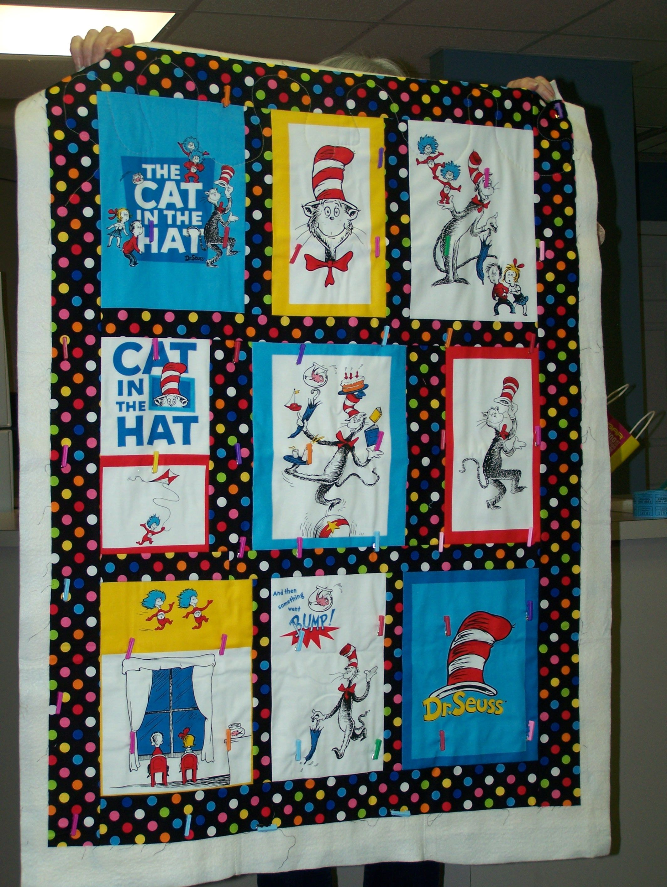 Dr. Seuss Quilt - Frances B 2