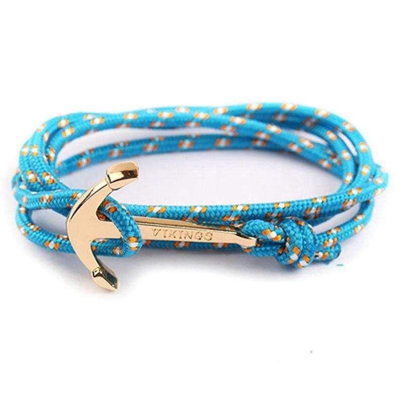 VIKINGS Bracelet dancrage Unisexe Classique