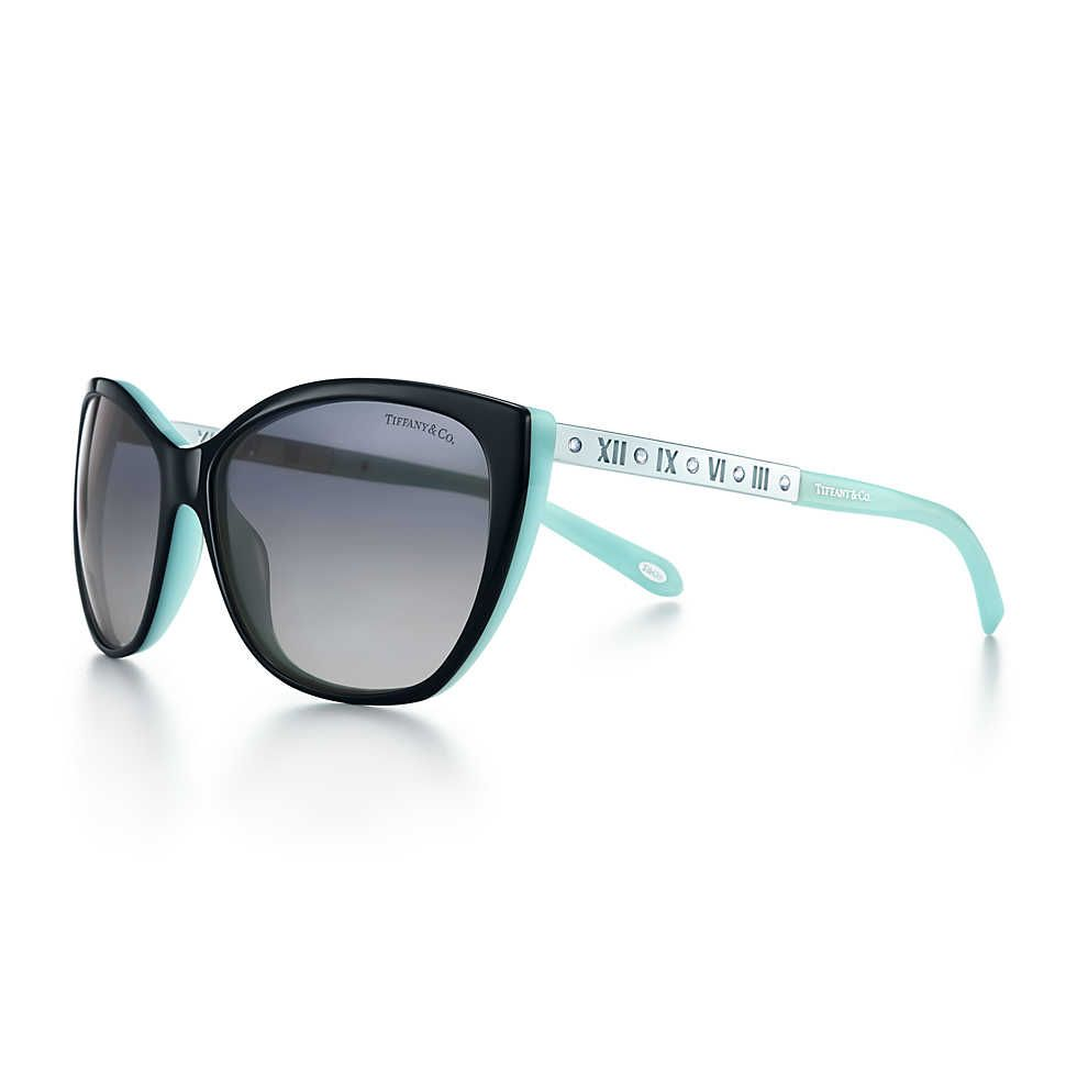 eb6e97c0bad8 Atlas® Cat eye sunglasses in silver-colored metal and exclusive ...