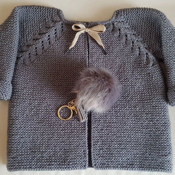 d7a43507eb651 Norwegian Fir Top Down Cardigan - P109 Knitting pattern by OGE Knitwear  Designs