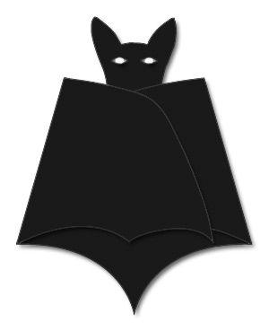 fledermaus einladung gefaltet fledermausparty pinterest fledermaus halloween und einladungen. Black Bedroom Furniture Sets. Home Design Ideas