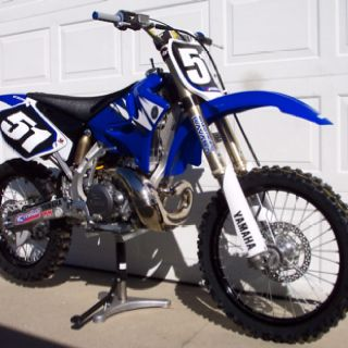Yamaha Yz 250 Old School Motorcross Bike Yamaha Dirt Bikes
