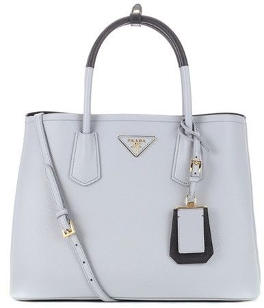 Prada Double saffiano leather tote Beautiful Handbags, Leather Totes, Denim  Jeans, My Style 9f6bedd91a
