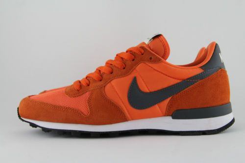 new products f28e6 63443 ... get new mens nike internationalist vintage suede orange trainers 7 5  631754 801 eb9eb b8da4