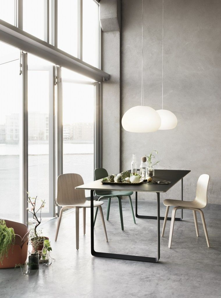 the new 70/70 table from TAF Architects for MUUTO | Woonkamer ...