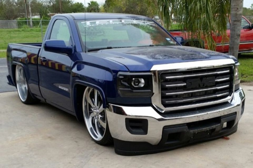 2015 gmc single cab static dropped on billets silverados pinterest gmc trucks cars and. Black Bedroom Furniture Sets. Home Design Ideas