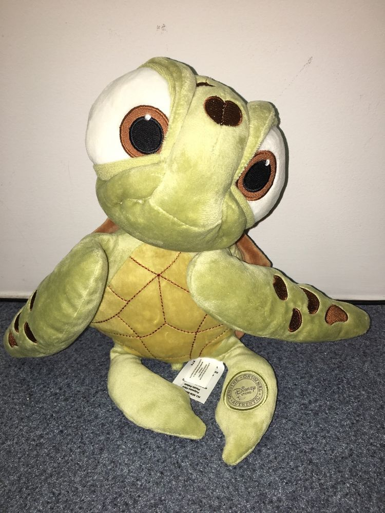 Authentic Disney Finding Nemo Movie 15 Squirt Turtle Plush Stuffed